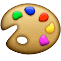 Artist Palette Snapchat Trophies