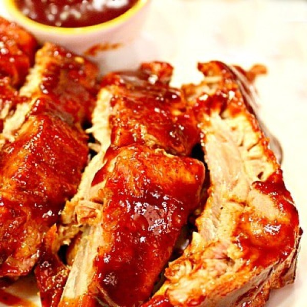 BEST EVER OVEN BBQ RIBS • Must Love Home