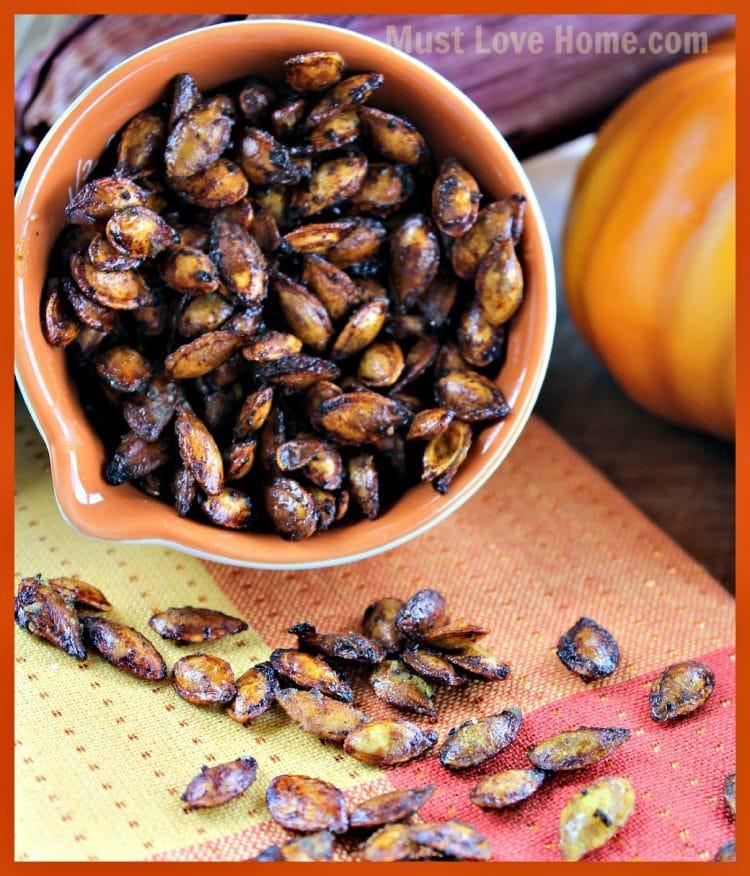 Spicy Squash Seeds Recipe