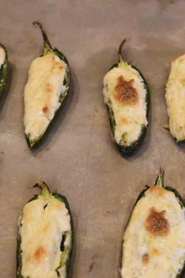 Cream Cheese is the rich, smooth filling for these spicy Lime Jalapeno Poppers! These favorites are baked rather than deep fried. You'll want to pop them down one after another. A Cinco De Mayo classic!