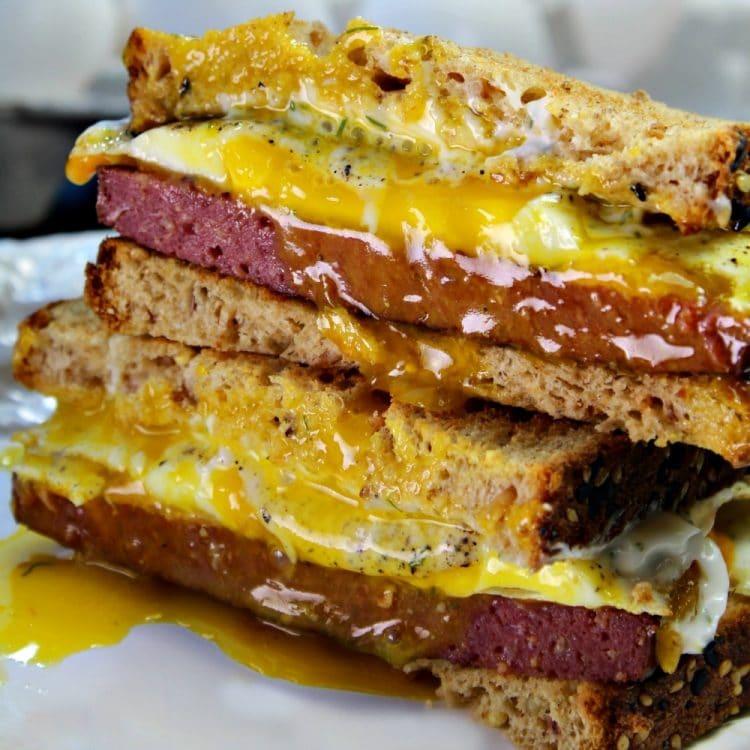 Buckeye Breakfast Sandwich Recipe