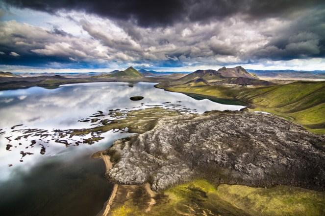 Frostastaðavatn near Landmannalaugar