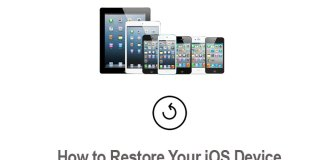 How to Restore iPhone or Other iOS Device