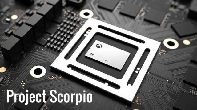 Everything you need to know about XBOX Project Scorpio
