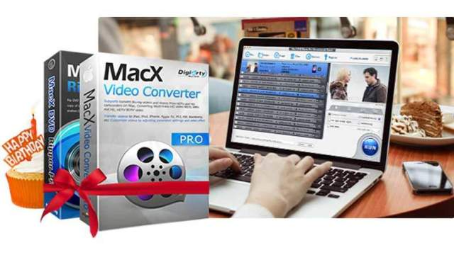 Anniversary Gift: Free MacX Video Converter Pro