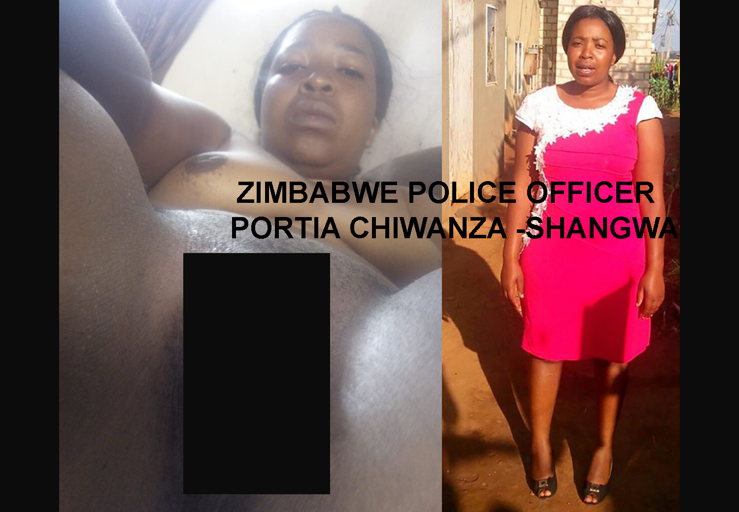 The Nude Image Said To Be Zimbabwe Police Officer And -7348