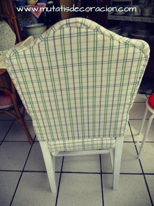 Cómo tapizar una butaca rústica. TUTORIAL