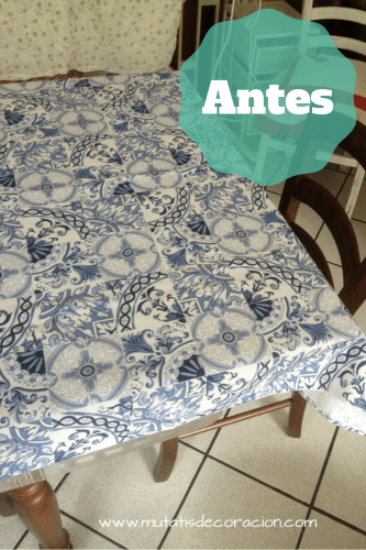habitación mantel azulejo