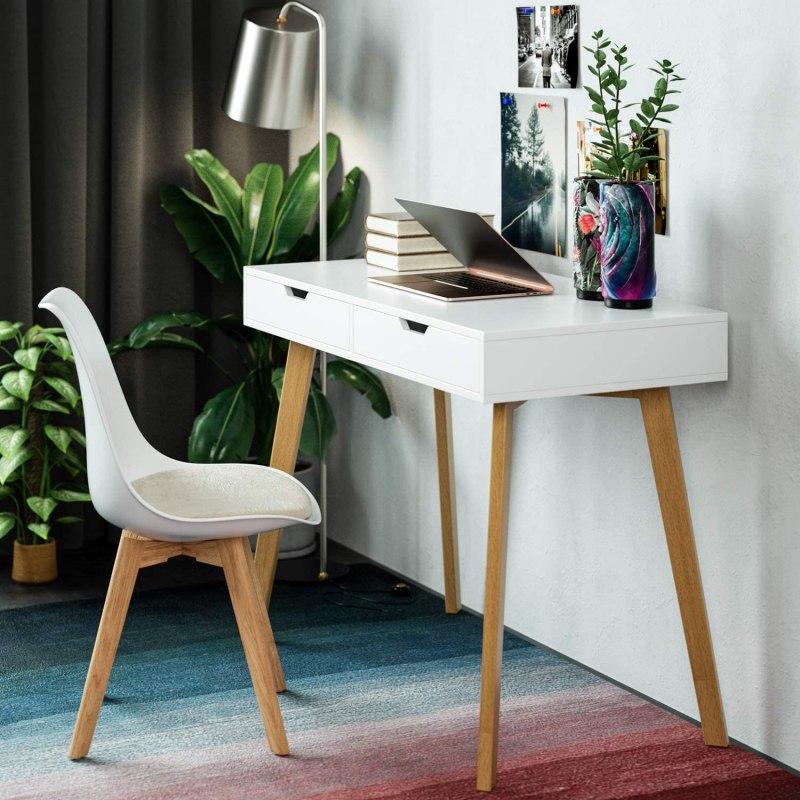 escritorios pequeños estilo nórdico