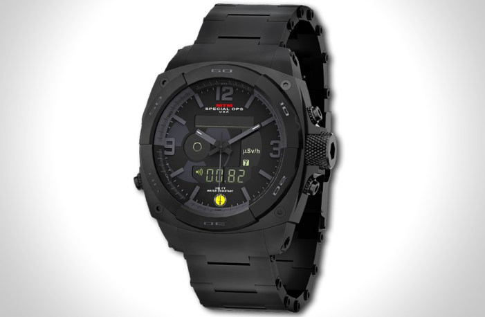 special ops radiation detection watches