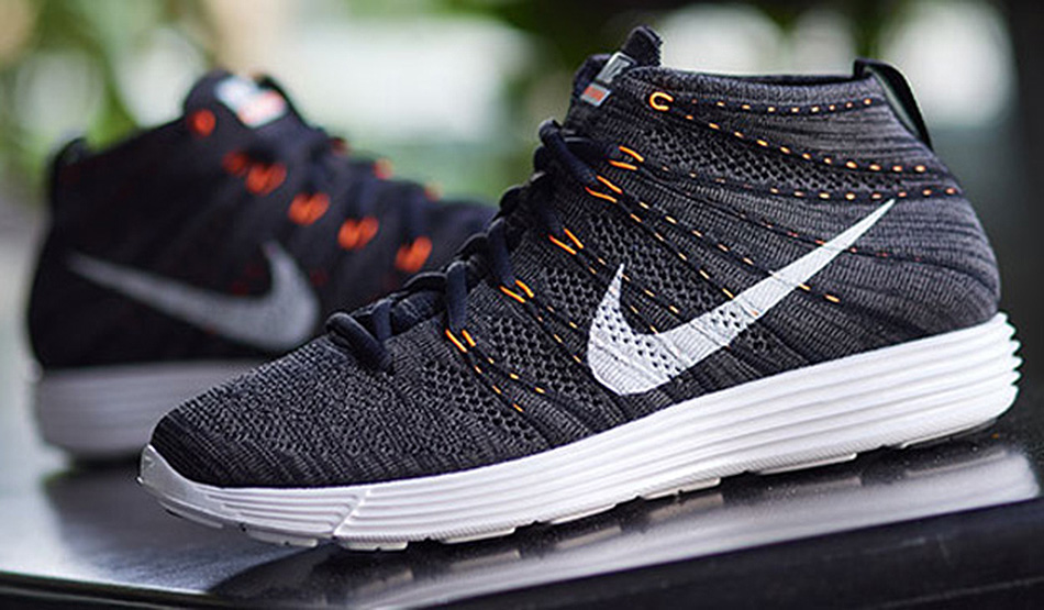 NIKE LUNAR FLYKNIT CHUKKA - MIDNIGHT FOG WHITE-TOTAL ORANGE  cbd5c58ab