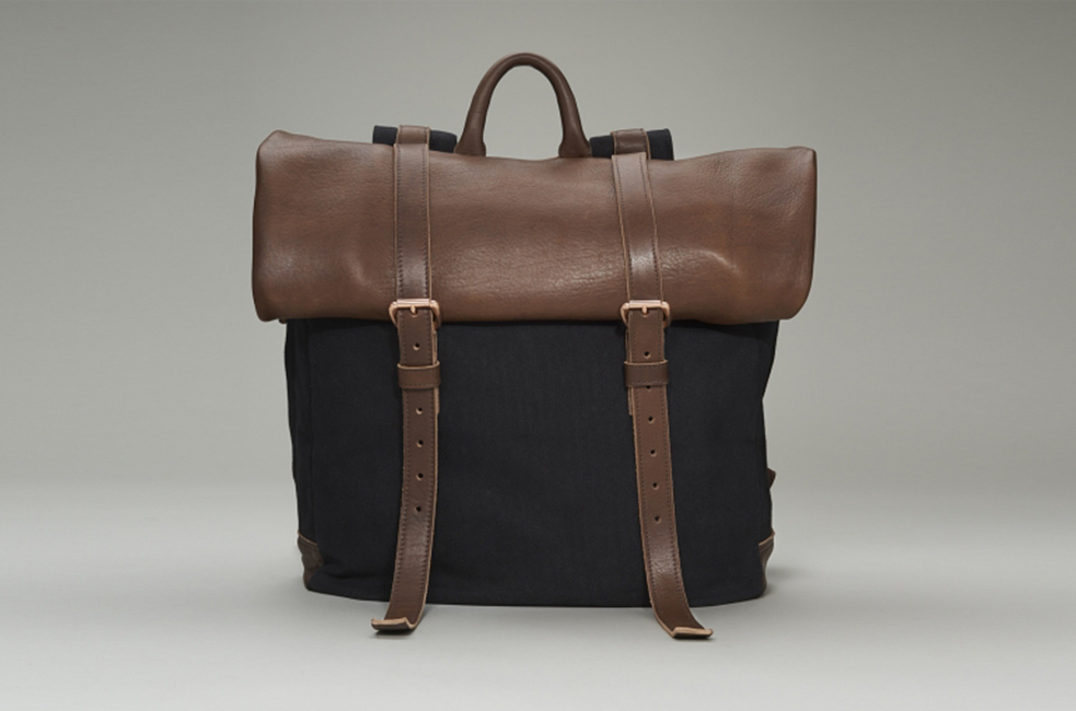 Shinola Rolltop Backpack