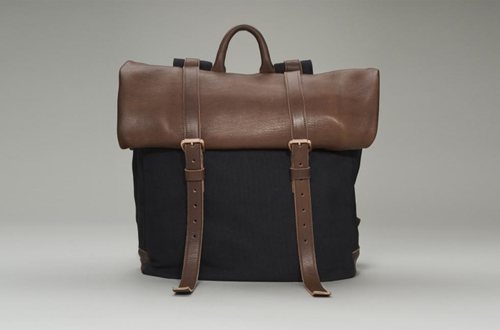 Shinola Rolltop Backpack