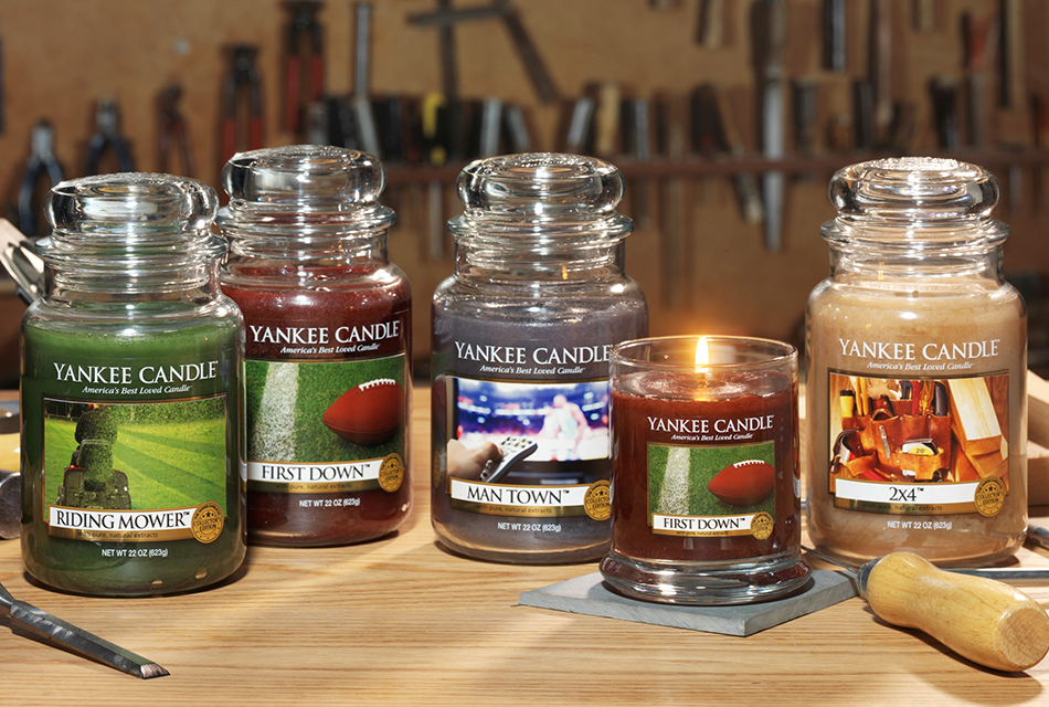 Yankee Candle Man Candles