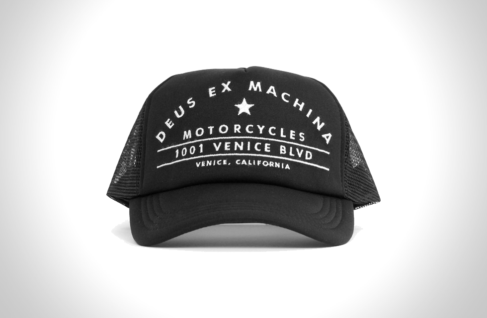 VENICE BLVD TRUCKER HAT BY DEUS
