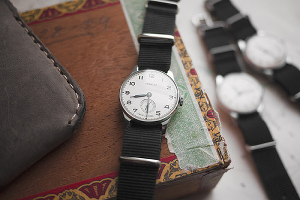 Restored Military Wristwatch by Convoy Goods