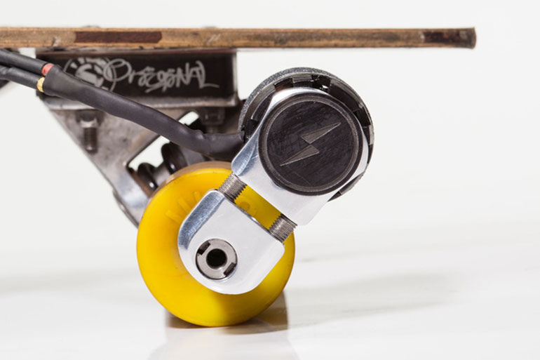 KICKR: AN ELECTRIC MOTOR FOR LONGBOARDS