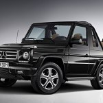 Mercedes Benz G Class Cabriolet Final Edition