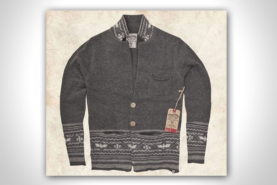 HARVEY CARDIGAN BY THIRD & ARMY