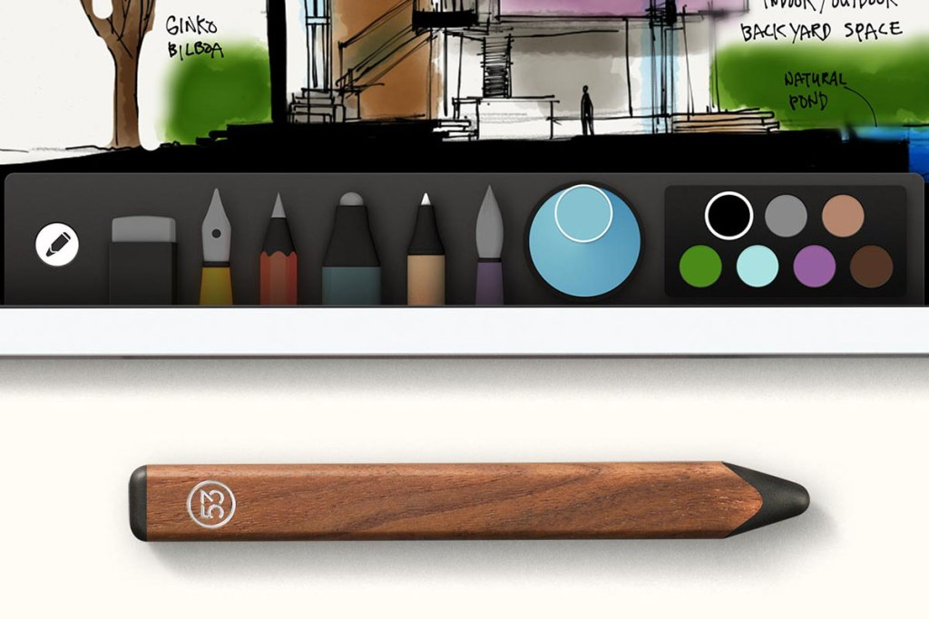 A PENCIL FOR FIFTY THREE'S PAPER APP