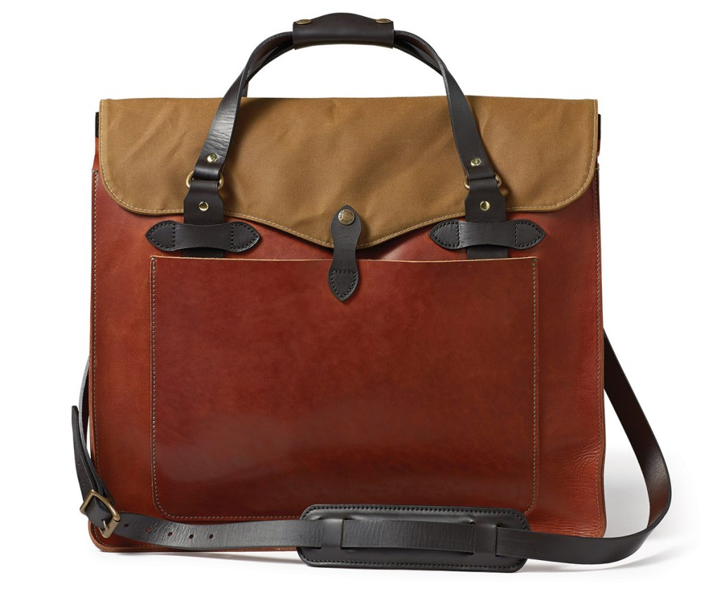 FILSON LARGE LEATHER TOTE