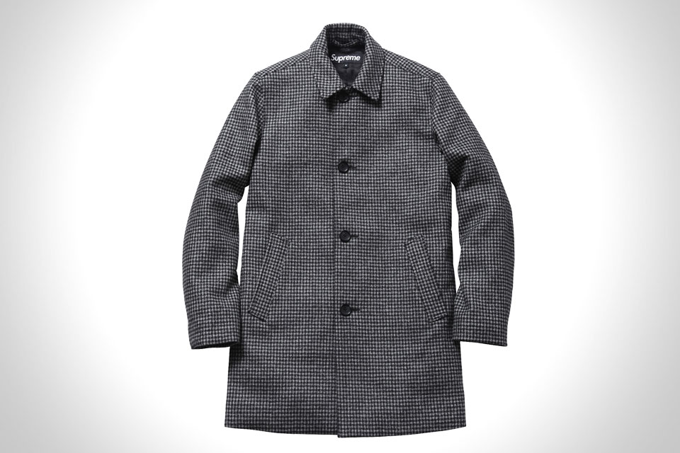 SUPREME WOOL TRENCH