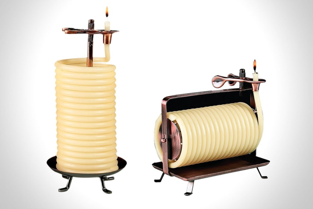 80-HOUR ROPE CANDLE BY CANDLE BY THE HOUR