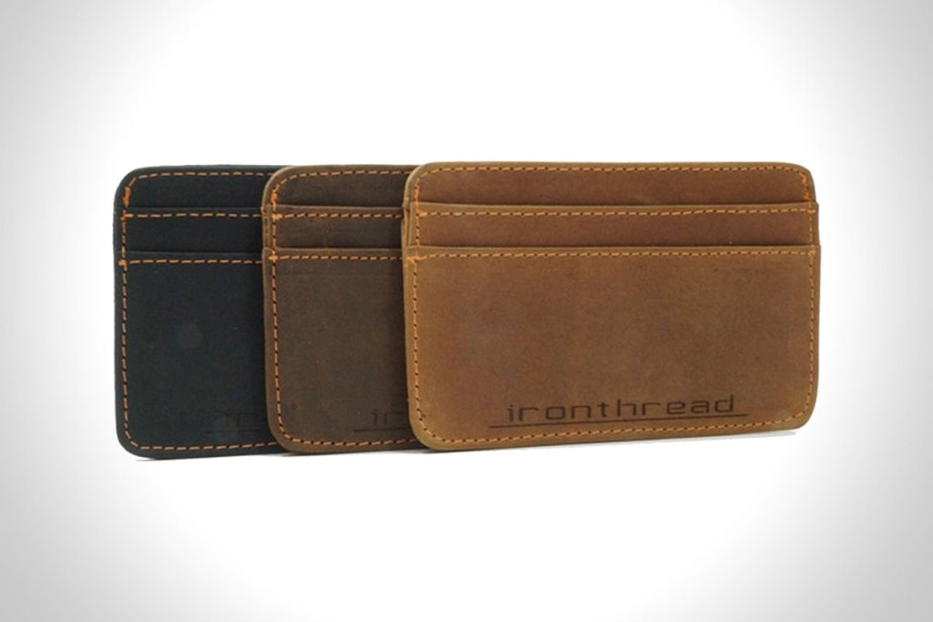 IRONTHREAD: THE AMERICAN SLIM WALLET