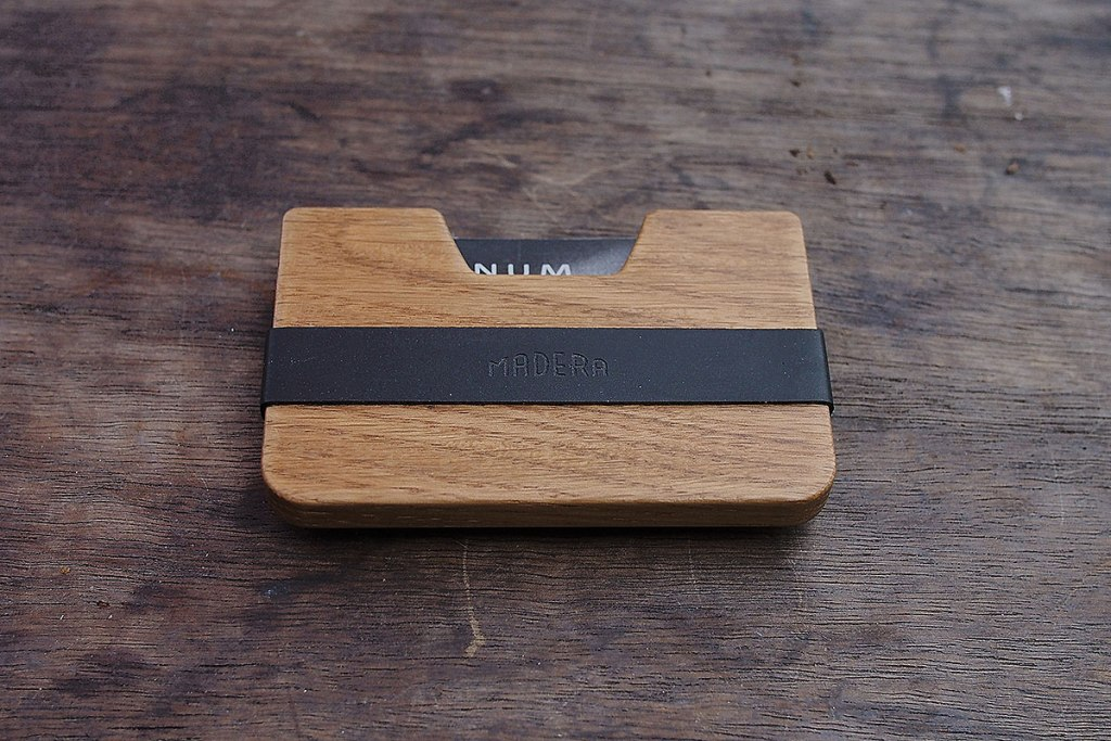 THE POQUITO WOOD WALLET