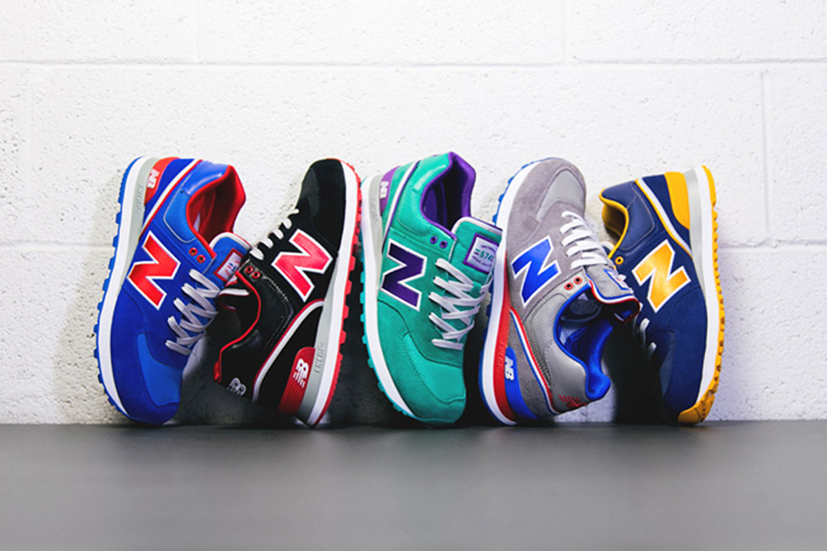 NEW BALANCE 574 STADIUM JACKET PACK