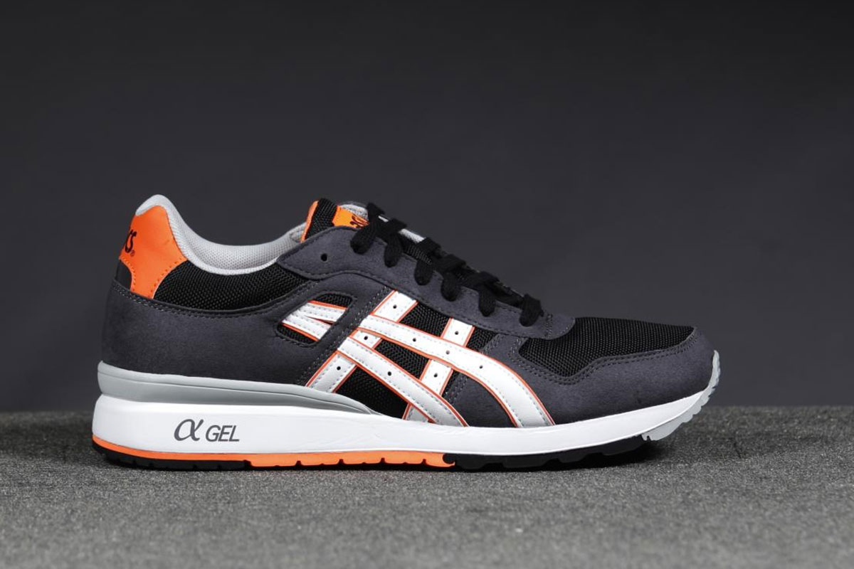 ASICS GT II Black Orange