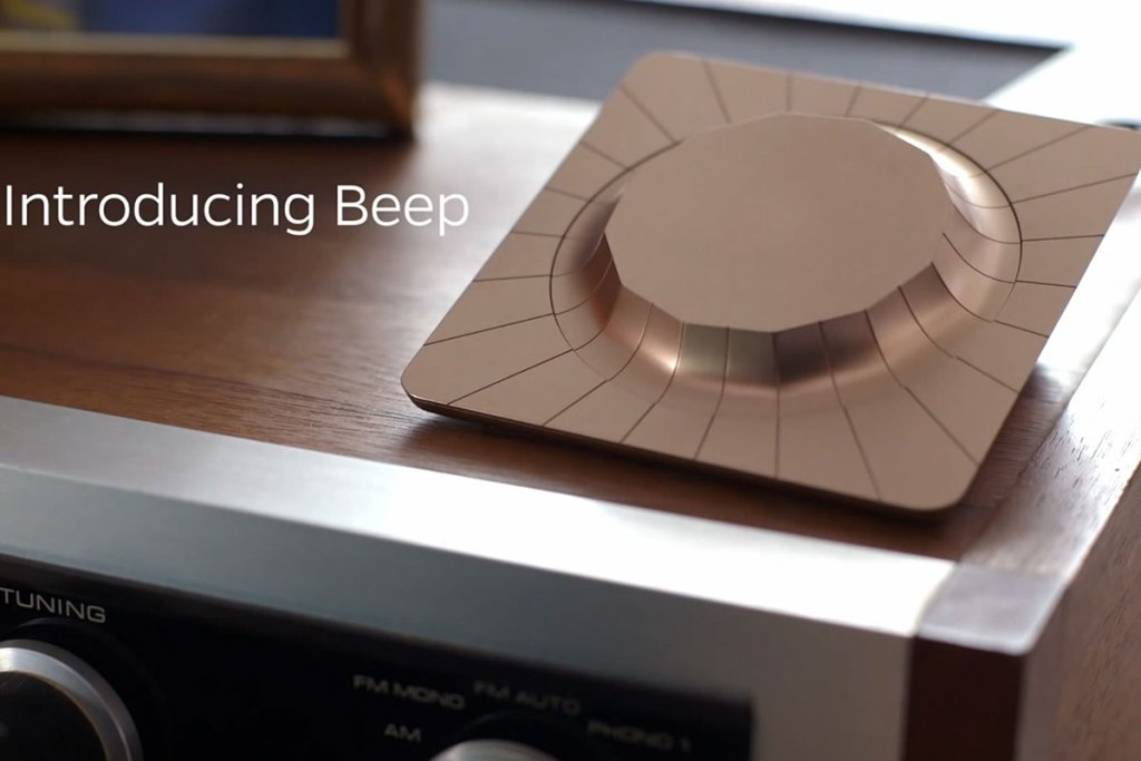 BEEP ALLOWS YOU TO WIRELESSLY CONTROL ANY SPEAKER