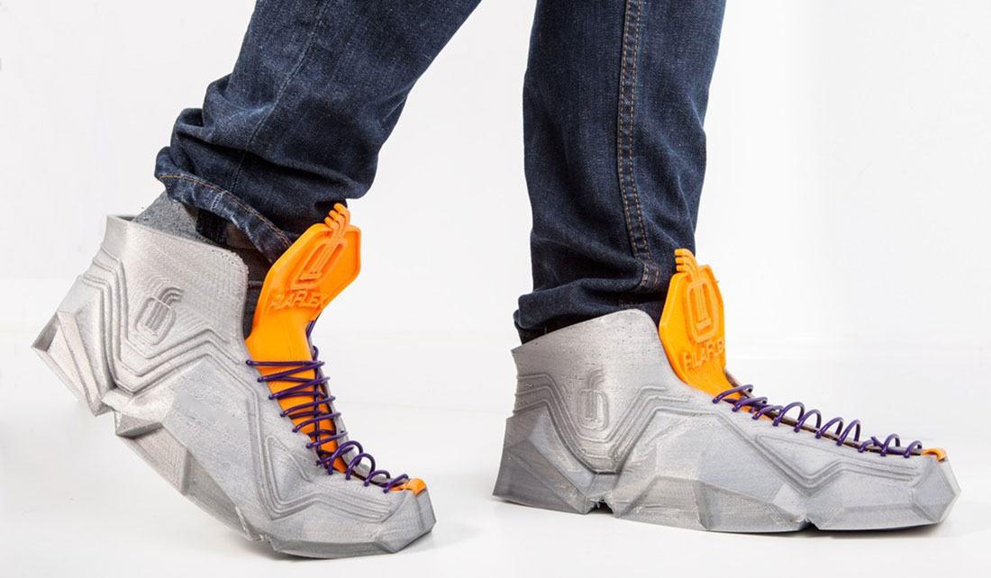 3D-PRINTED SNEAKERS BY RECREUS
