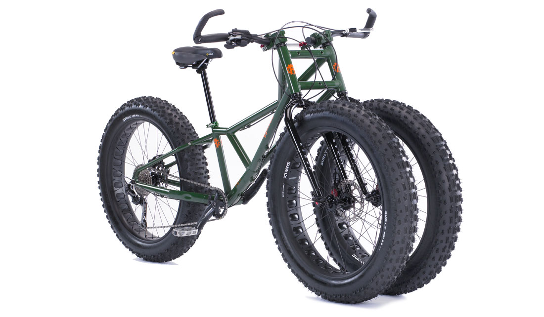 RUNGU JUGGERNAUT BIKE - THE FIRST FAT-TIRE TRIKE