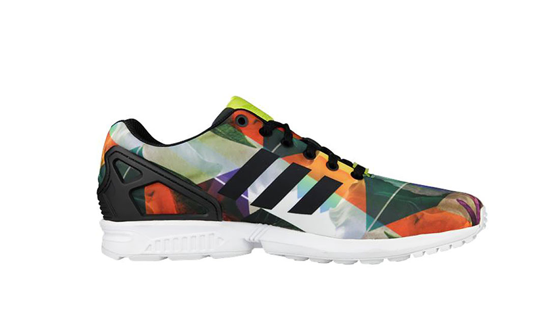 "ADIDAS ORIGINALS ZX FLUX ""FLORAL"""