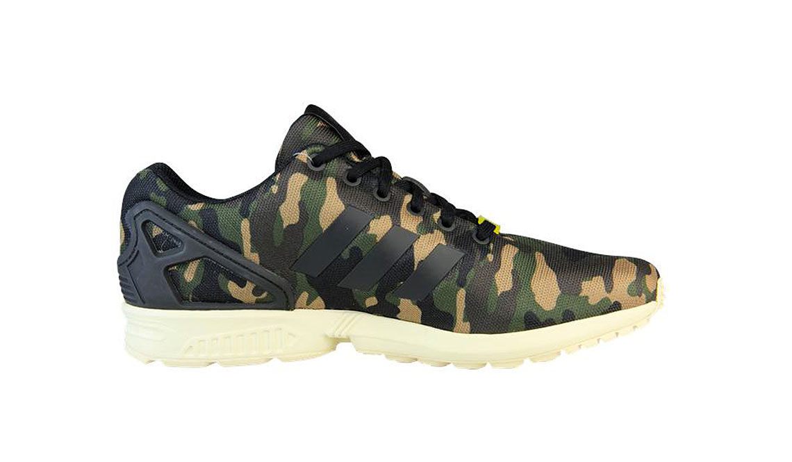 ADIDAS ZX FLUX – CAMO | Muted.