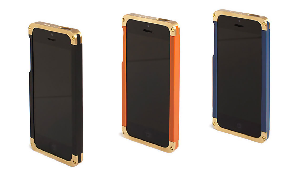 BRASS IPHONE CASE BY REVISIT