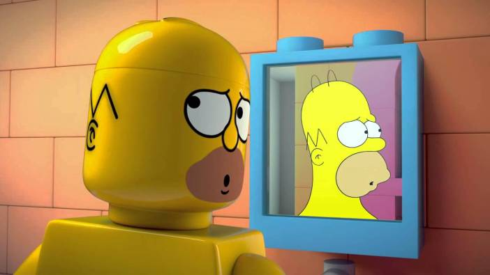 SIMPSONS GET THE LEGO TREATMENT