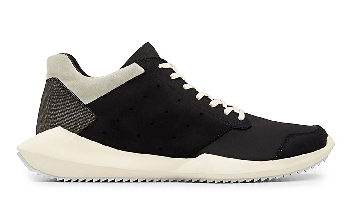 RICK OWENS X ADIDAS FW14 TECH LOW TOP SNEAKER