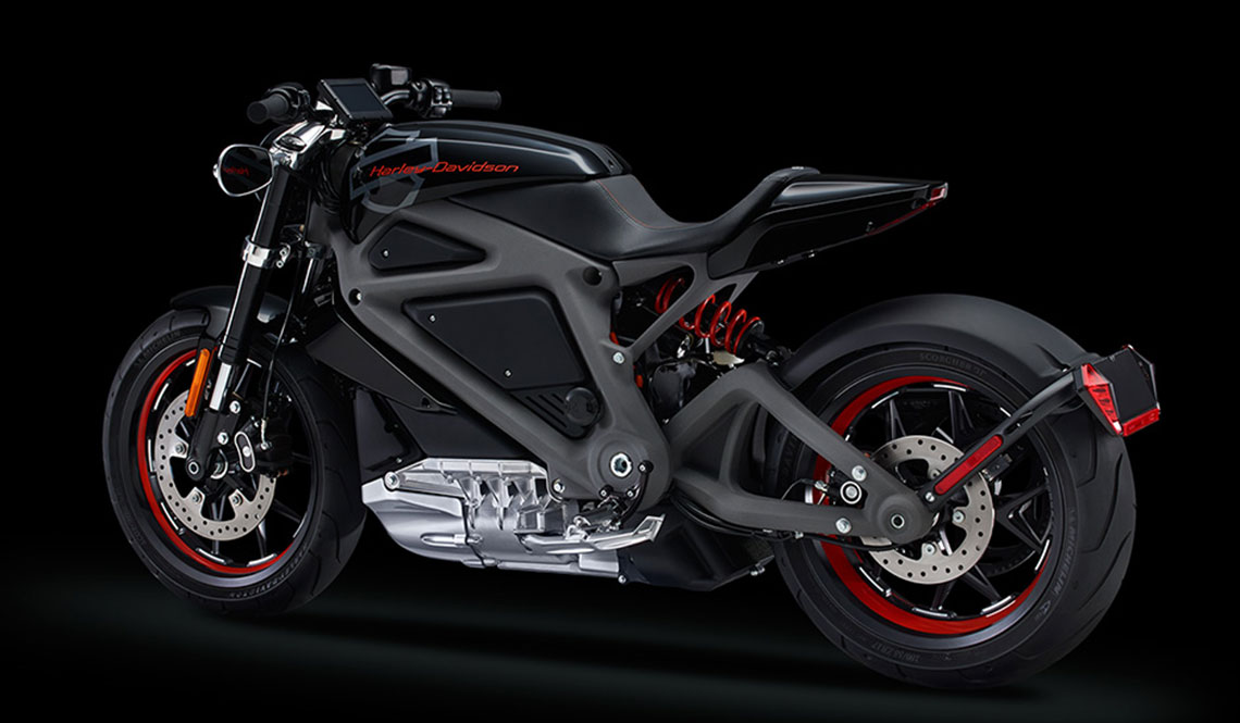 HARLEY-DAVIDSON LIVEWIRE ELECTRIC MOTORCYCLE #PROJECTLIVEWIRE