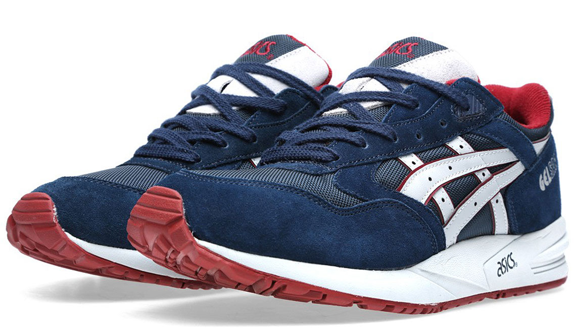 ASICS GEL SAGA – NAVY & SOFT GREY