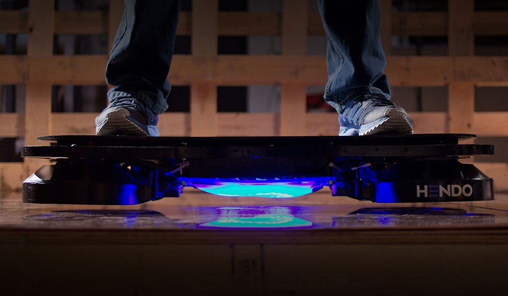 HENDO - THE WORLD'S FIRST REAL HOVERBOARD