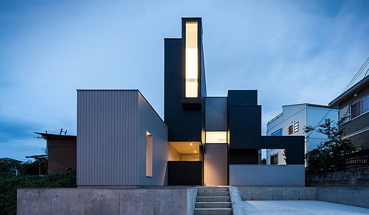 SCRAPE HOUSE BY KOUICHI KIMURA ARCHITECTS