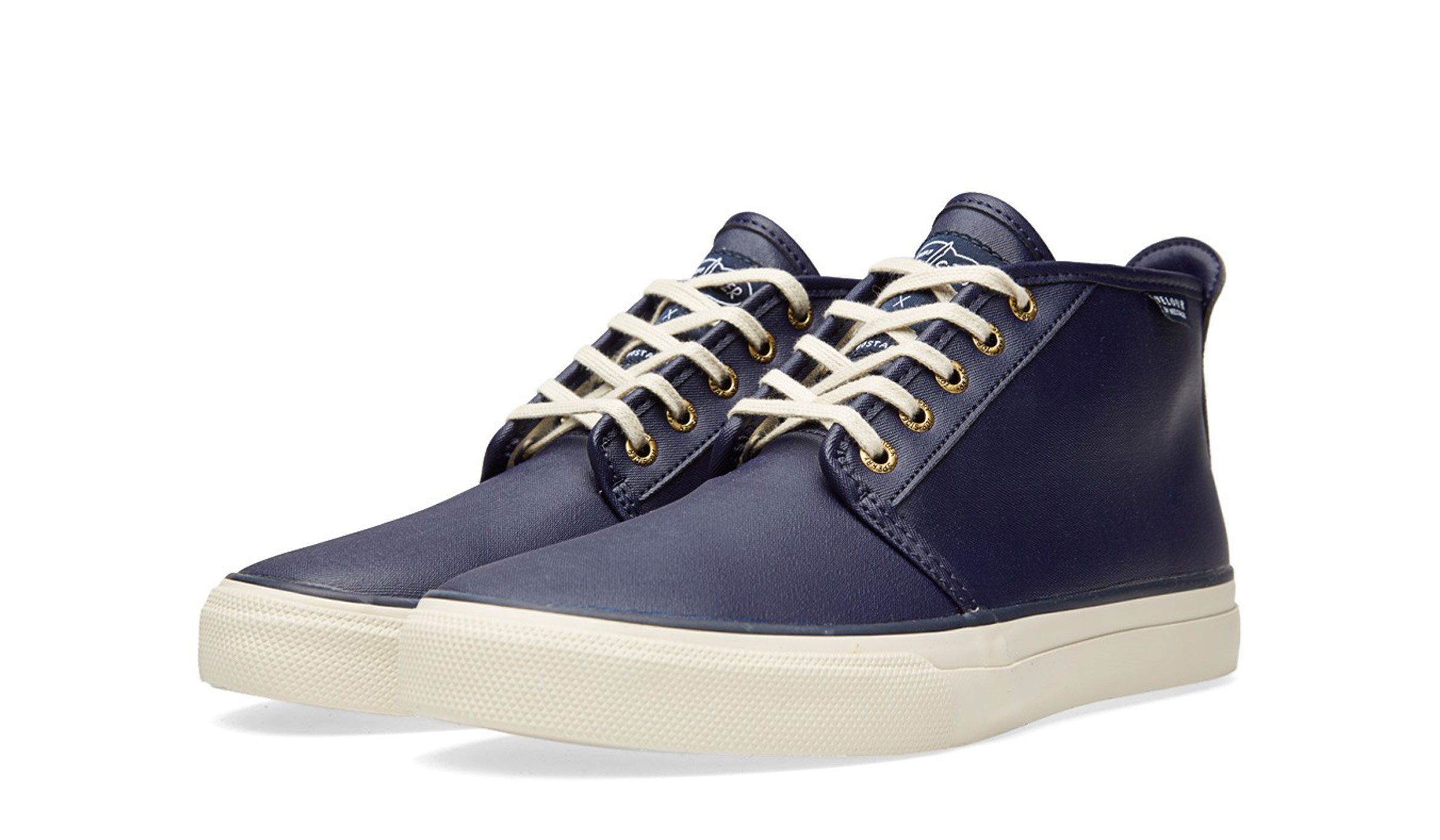 SPERRY TOPSIDER X VELOUR CLOUD CHUKKA - NAVY