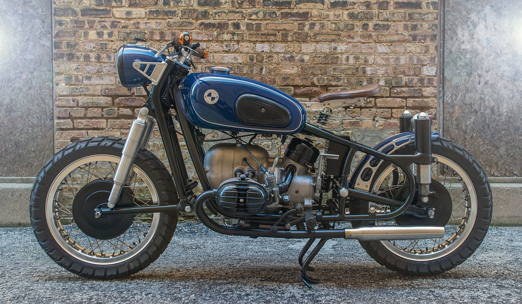 BLUE BARON BY ANALOG MOTORCYCLES