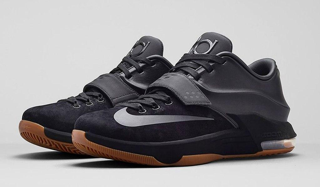 Nike KD VII EXT Suede Black/Black