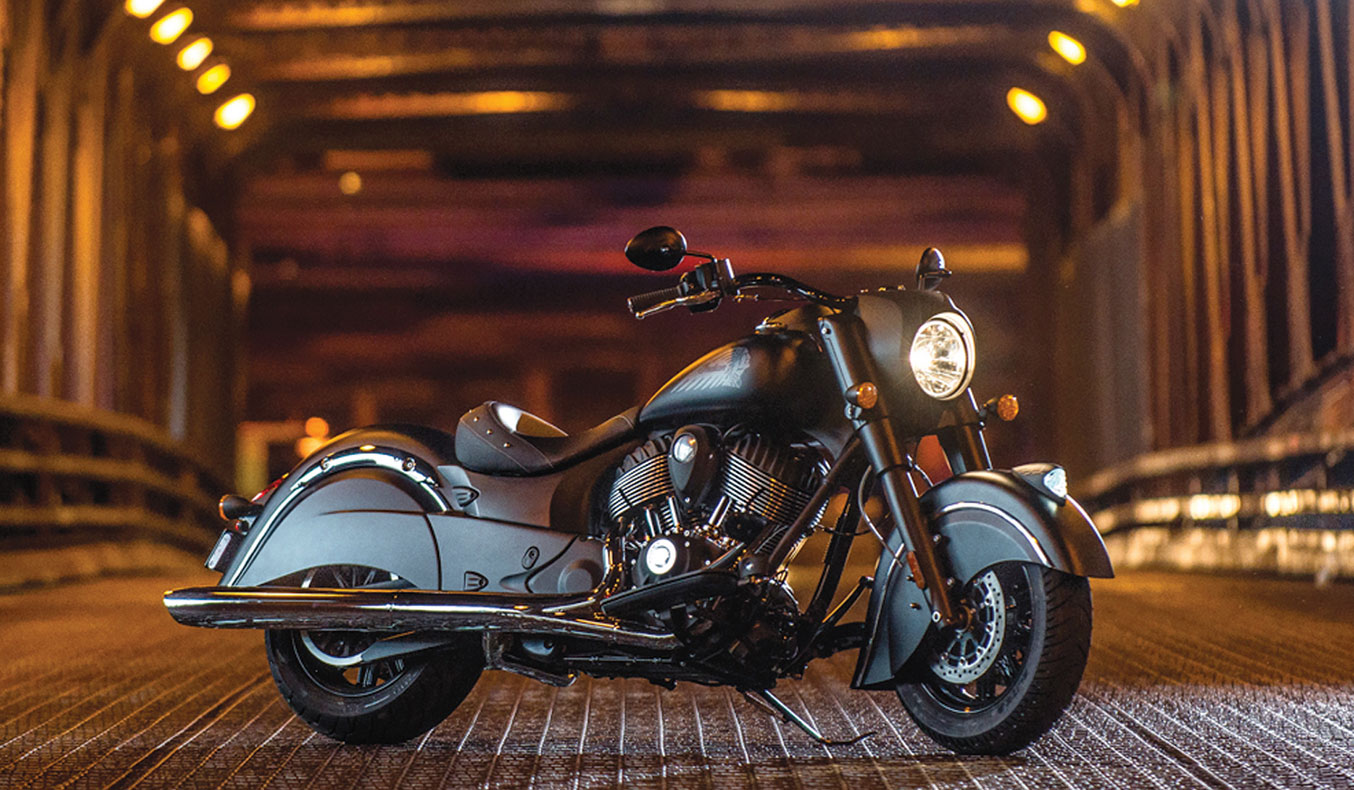 2016 INDIAN DARK HORSE MOTORCYCLE