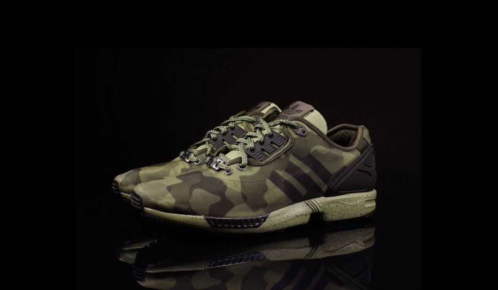"ADIDAS ZX FLUX DECON ""CAMO"" PACK"