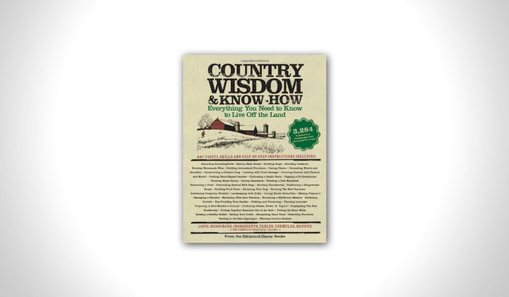Country Wisdom and Know How | #mutedbooks