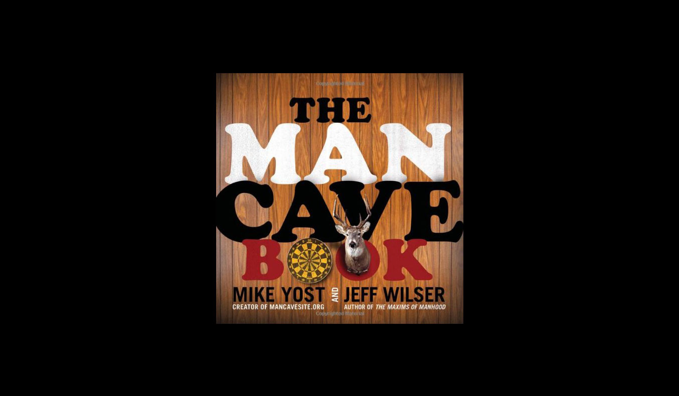 The Man Cave Book | #mutedbooks